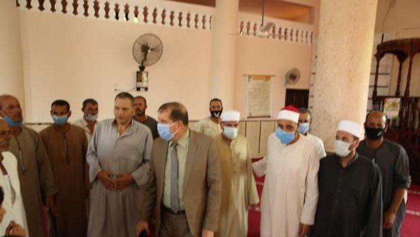 افتتاح 6 مساجد بـ 15 مليون جنيه في كفر الشيخ