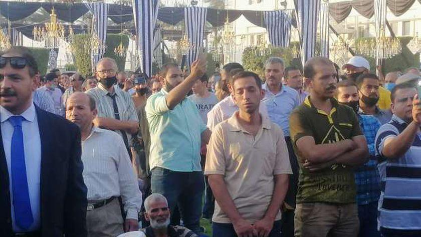 جنازة محمد فريد خميس