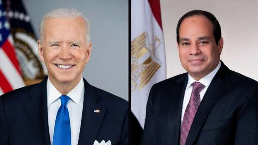الرئيس عبد الفتاح السيسي والرئيس جو بايدن