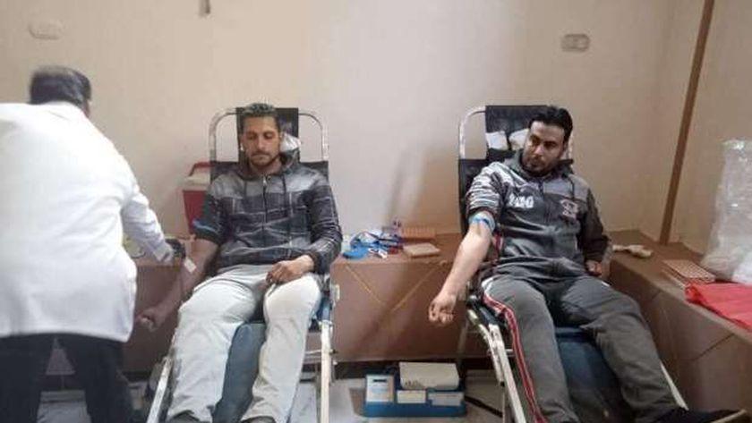 التبرع بالدم في مدينة تلا