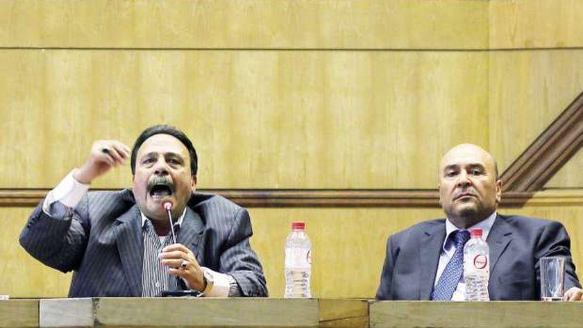 مؤتمر صحفى لاتحاد عمال مصر «صورة أرشيفية»