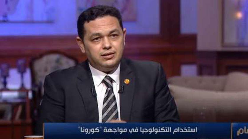 المهندس أيسم صلاح.. مستشار وزيرة الصحة لتكنولجيا المعلومات