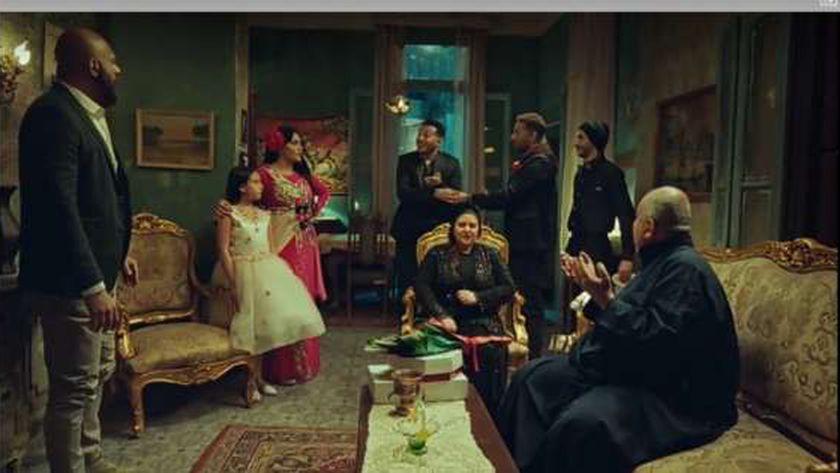 مشهد من مسلسل ملوك الجدعنة