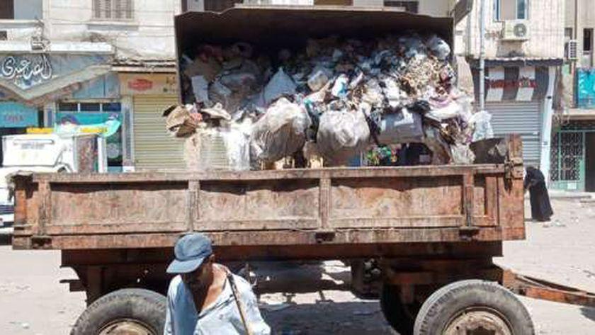 حملات نظافة مكثفة بشوارع دسوق خلال عيد الأضحى
