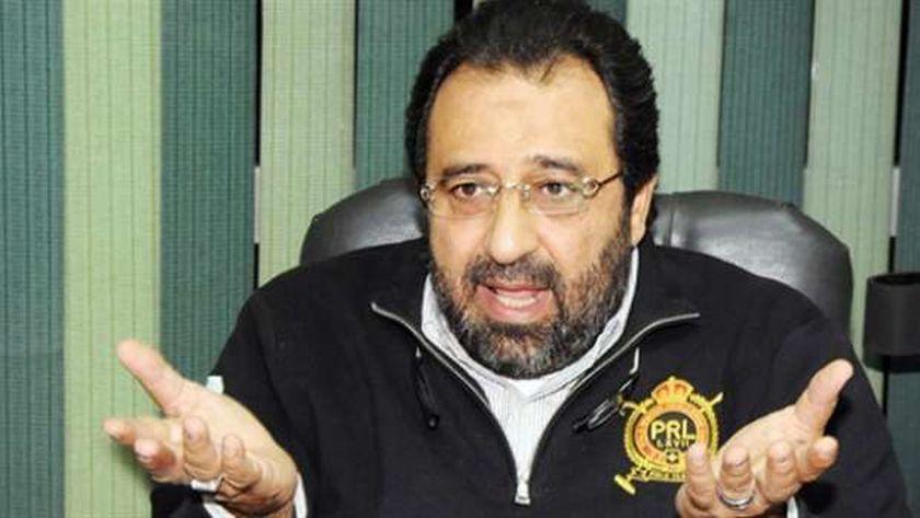 مجدي عبدالغني رئيس جمعية اللاعبين المحترفين