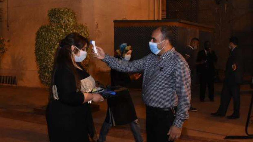 أولي حفلات اوبرا الإسكندرية وسط إجراءات احترازية