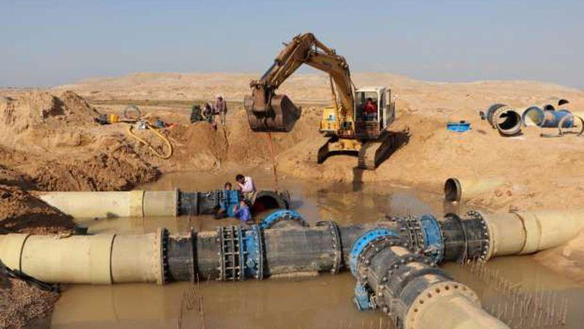 اليوم.. قطع المياه عن سندوب وأجا و15 قرية بالدقهلية