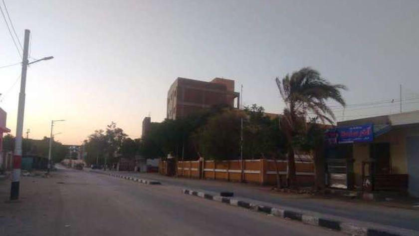 الهدوء يسود شوارع أسيوط وغلق الحدائق في ثانى أيام عيد الأضحى