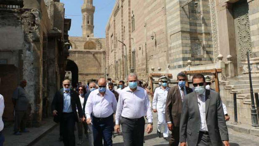 انطلاق خطة تطوير القاهرة التاريخية