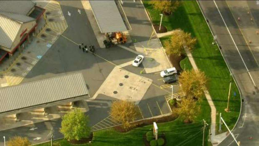 موقع حادث اطلاق النار العشوائي في بنسلفانيا