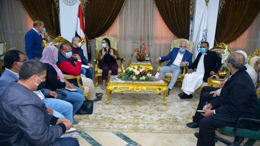 صورة في عيد المحافظة.. افتتاح معرض للزهور ونباتات الزينة بشرم الشيخ 20 مارس – المحافظات
