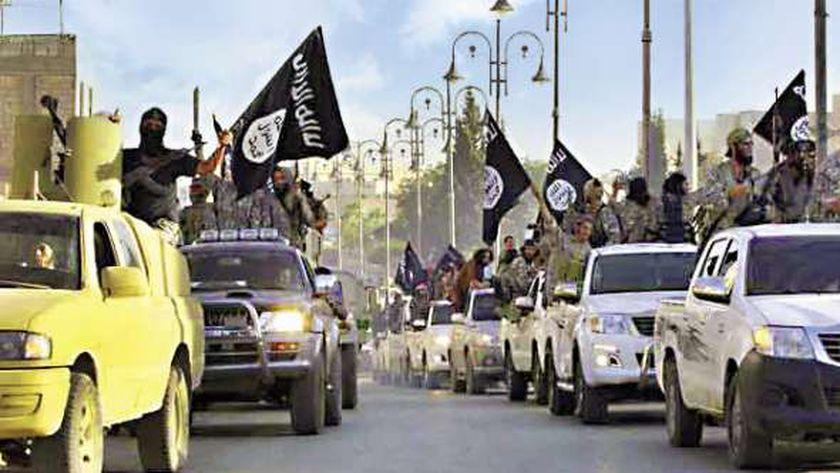 """عناصر تنظيم """"داعش"""" الإرهابي"""