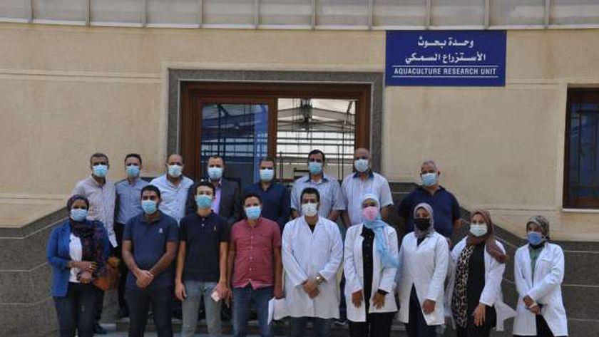 جامعة كفر الشيخ تستقبل وفد «مصر الخير» لبحث إقامة مشروعات مشتركة